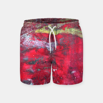 Dark Red Swim Shorts thumbnail image