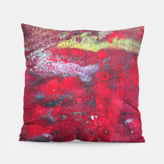 Thumbnail image of Dark Red Pillow, Live Heroes