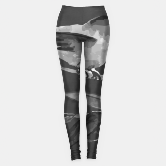 Thumbnail image of A gray bird Leggings, Live Heroes