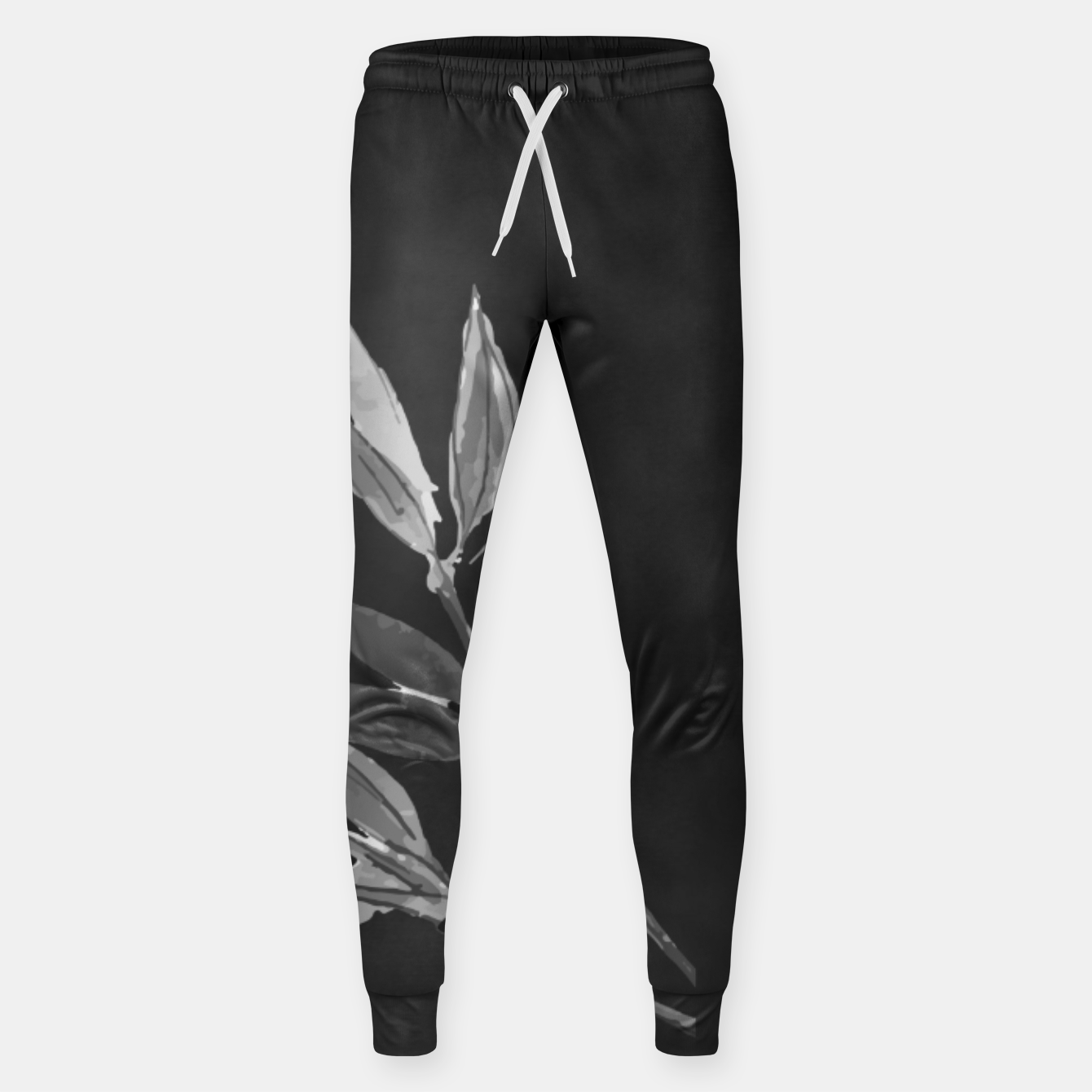 Image of A gray bird Cotton sweatpants - Live Heroes