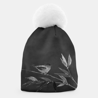 Thumbnail image of A gray bird Beanie, Live Heroes