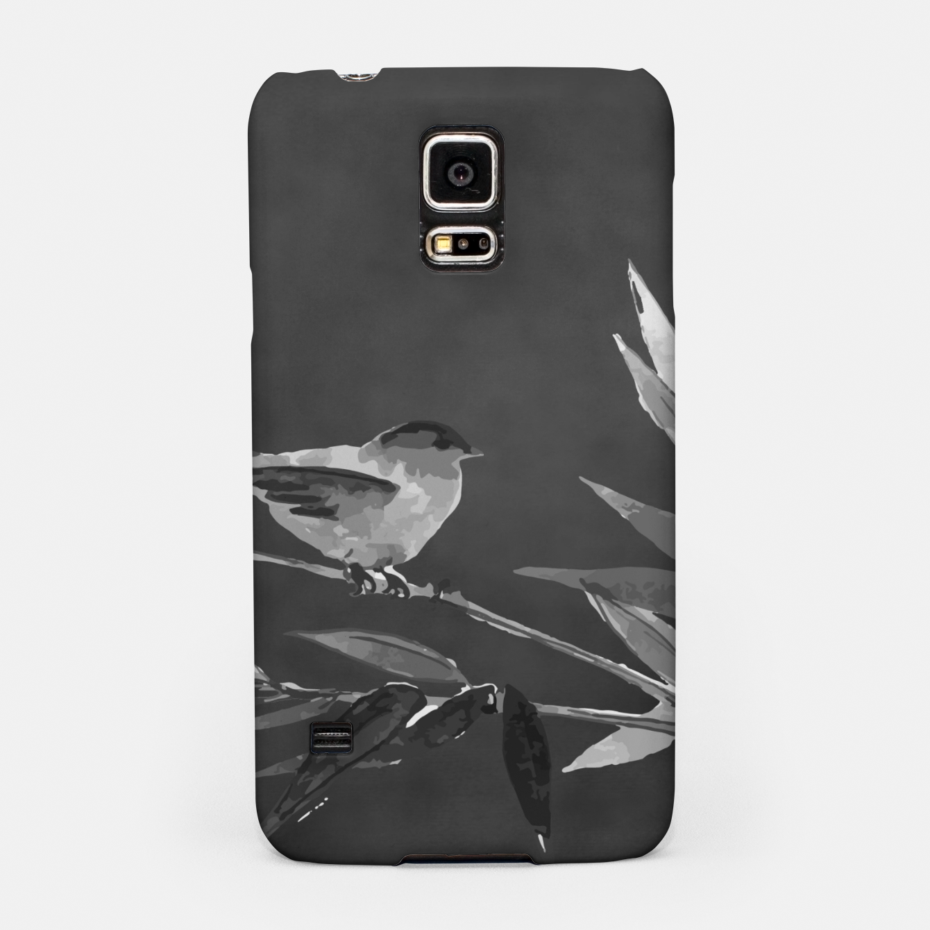 Image of A gray bird Samsung Case - Live Heroes