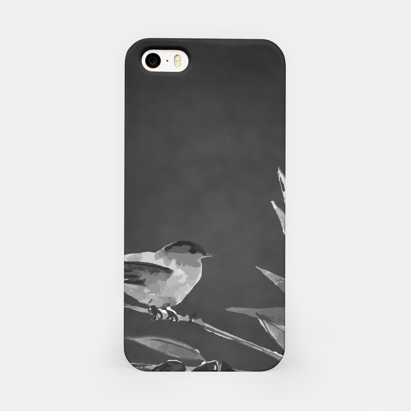 Image of A gray bird iPhone Case - Live Heroes