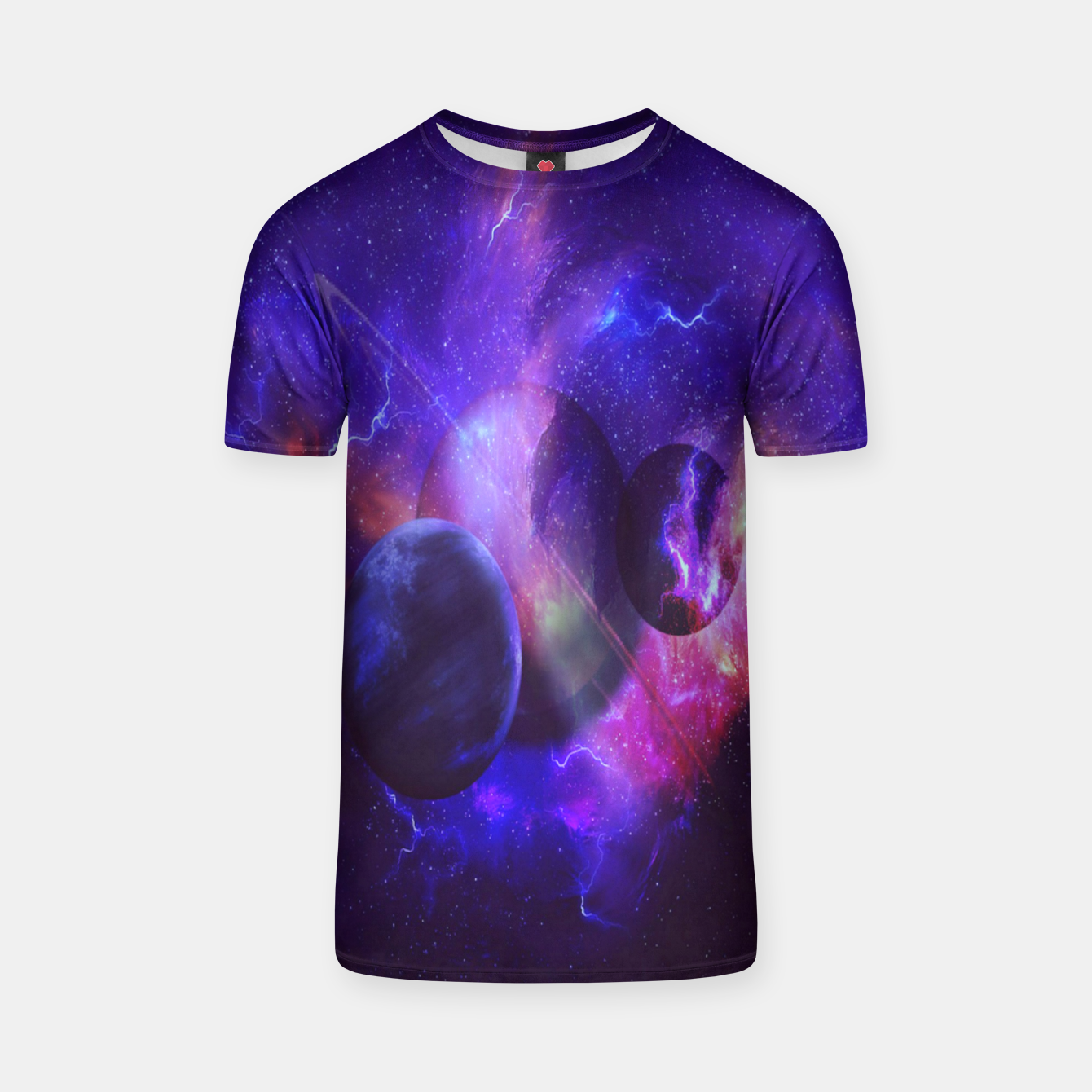 Image of Planetary wings  T-shirt - Live Heroes