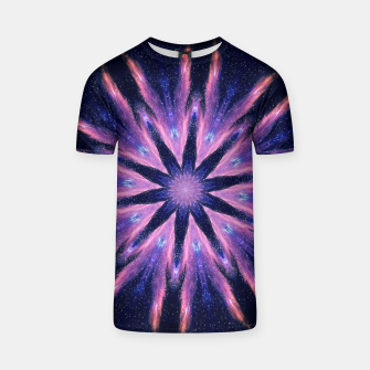Thumbnail image of Sunset mandala T-shirt, Live Heroes