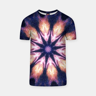 Thumbnail image of Lightening mandala T-shirt, Live Heroes