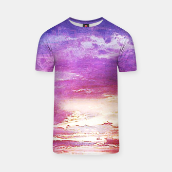 Thumbnail image of Sunset skies T-shirt, Live Heroes
