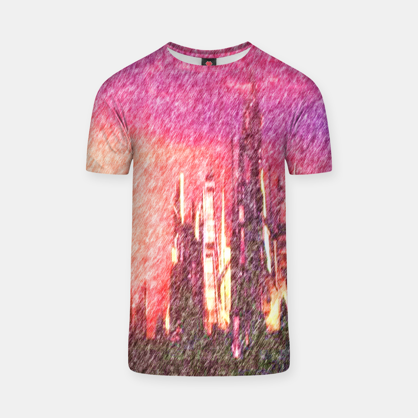 Image of Alteran sunset T-shirt - Live Heroes