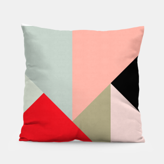 Thumbnail image of Modern Fashion Bands Pillow, Live Heroes