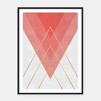 Thumbnail image of Modern Fashion Bands Framed poster, Live Heroes