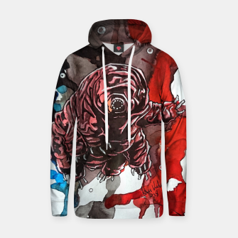 Thumbnail image of Tsundere Tardigrade Cotton hoodie, Live Heroes