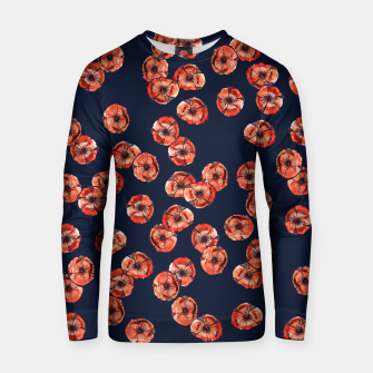 Thumbnail image of Red Poppy Cotton sweater, Live Heroes