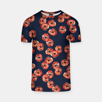 Thumbnail image of Red Poppy T-shirt, Live Heroes