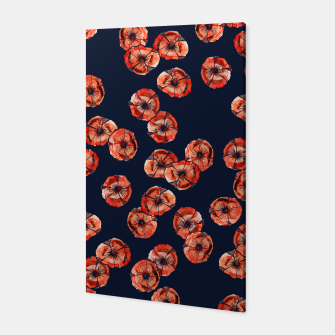 Thumbnail image of Red Poppy Canvas, Live Heroes
