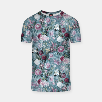 Thumbnail image of Botanical Garden Blue T-shirt, Live Heroes