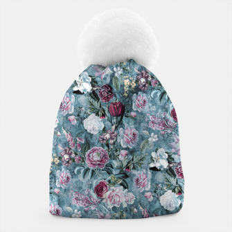Thumbnail image of Botanical Garden Blue Beanie, Live Heroes
