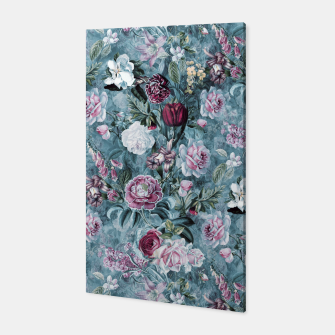 Botanical Garden Blue Canvas thumbnail image