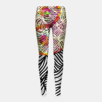 Thumbnail image of j&j Girl's leggings, Live Heroes