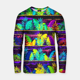 Miniatur Tropical XIII Cotton sweater, Live Heroes