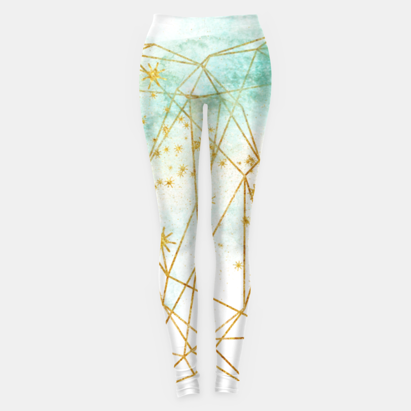 Image of Geometric Leggings - Live Heroes