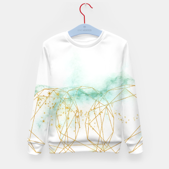 Thumbnail image of Geometric Kid's sweater, Live Heroes