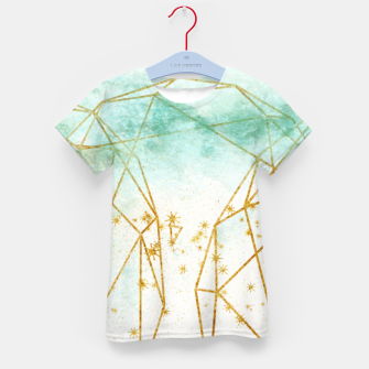 Thumbnail image of Geometric Kid's t-shirt, Live Heroes