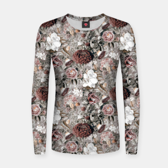 Thumbnail image of Botanical Garden II Woman cotton sweater, Live Heroes
