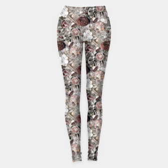 Thumbnail image of Botanical Garden II Leggings, Live Heroes
