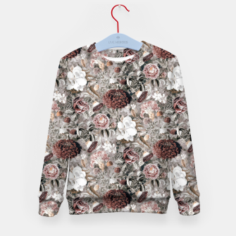 Thumbnail image of Botanical Garden II Kid's sweater, Live Heroes