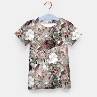 Thumbnail image of Botanical Garden II Kid's t-shirt, Live Heroes