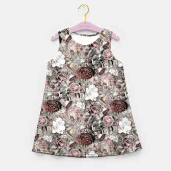 Thumbnail image of Botanical Garden II Girl's summer dress, Live Heroes