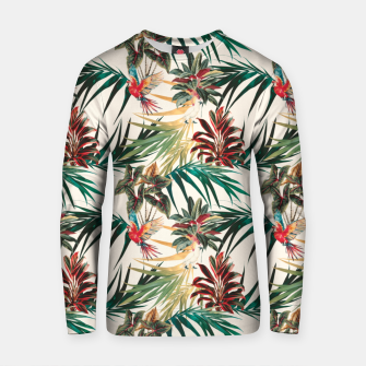 Miniature de image de Plants and tropical birds Sudadera de algodón, Live Heroes