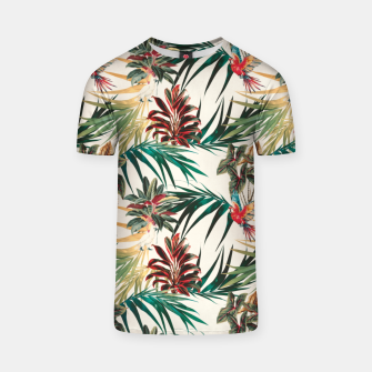 Thumbnail image of Plants and tropical birds Camiseta, Live Heroes