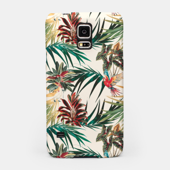 Miniatur Plants and tropical birds Carcasa por Samsung, Live Heroes