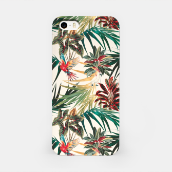 Miniaturka Plants and tropical birds Carcasa por Iphone, Live Heroes