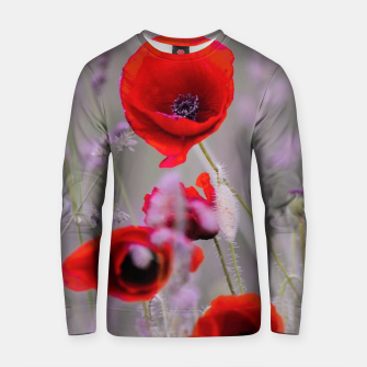 Miniature de image de poppies in the fog Bluza bawełniana, Live Heroes