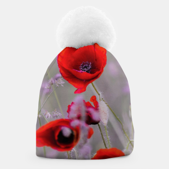 Miniature de image de poppies in the fog Czapka, Live Heroes