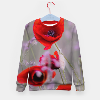 Miniature de image de poppies in the fog Bluza dziecięca, Live Heroes