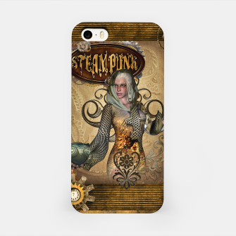 Thumbnail image of Aweseome steampunk women with owl iPhone Case, Live Heroes