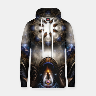 Thumbnail image of Star Dust Crypt Of Corland Fractal Art Cotton hoodie, Live Heroes
