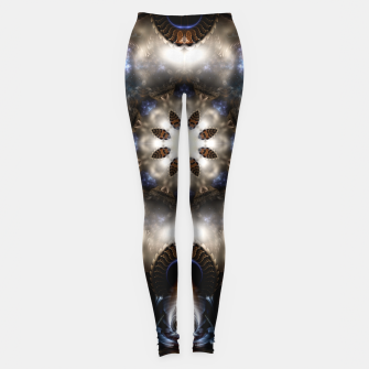 Thumbnail image of Star Dust Crypt Of Corland Fractal Art Leggings, Live Heroes