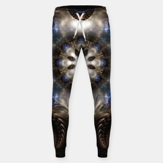 Thumbnail image of Star Dust Crypt Of Corland Fractal Art Cotton sweatpants, Live Heroes