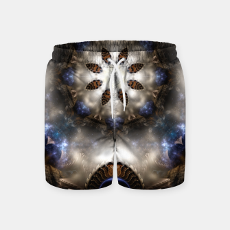 Thumbnail image of Star Dust Crypt Of Corland Fractal Art Swim Shorts, Live Heroes