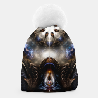 Thumbnail image of Star Dust Crypt Of Corland Fractal Art Beanie, Live Heroes