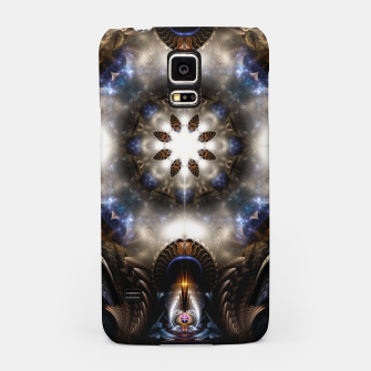 Thumbnail image of Star Dust Crypt Of Corland Fractal Art Samsung Case, Live Heroes