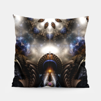 Thumbnail image of Star Dust Crypt Of Corland Fractal Art Pillow, Live Heroes