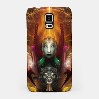 Thumbnail image of Riddian Queen Of Cosmic Fire Samsung Case, Live Heroes
