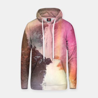 Thumbnail image of Waterfall of Inspiration Cotton hoodie, Live Heroes