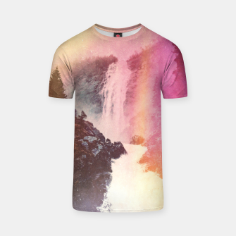 Thumbnail image of Waterfall of Inspiration T-shirt, Live Heroes