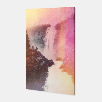 Miniature de image de Waterfall of Inspiration Canvas, Live Heroes